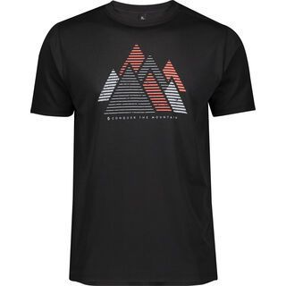 Scott Trail MTN Dri Graphic S/Sl Men's Shirt, black - Radtrikot