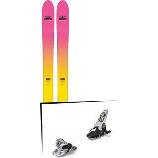 Set: DPS Skis Yvette 112 RP2 Foundation 2018 + Marker Griffon 13 ID white
