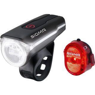 Sigma Beleuchtungs-Set Aura 60 USB + Nugget II, schwarz