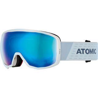 Atomic Count JR Spherical, white/blue/Lens: blue flash - Skibrille