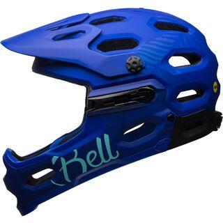 Bell Super 3R Joy Ride MIPS, cobalt/pearl - Fahrradhelm