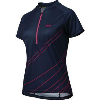 IXS Trail 6.2 Women Jersey, night blue pink - Radtrikot
