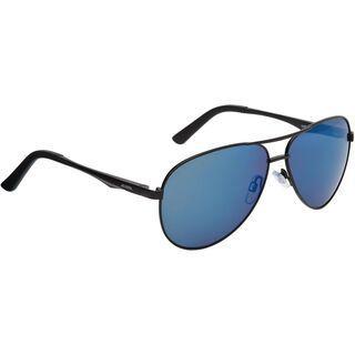 Alpina A 107, black matt/Lens: ceramic mirror blue - Sonnenbrille