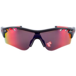 Oakley Radarlock Path Vented, Matte Black Ink/OO Red Polarized & Black Iridium - Sportbrille