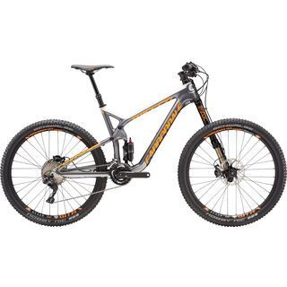 Cannondale Trigger Carbon 2 2016, grey/orange - Mountainbike