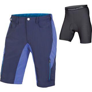 Endura SingleTrack III Short with Liner, marineblau - Radhose