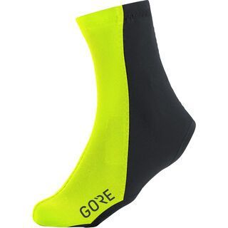 Gore Wear C3 Partial Gore Windstopper Überschuhe, neon yellow/black
