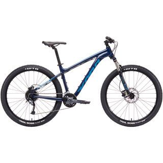 Kona Fire Mountain 26 2019, midnight w/ blue & cream - Mountainbike