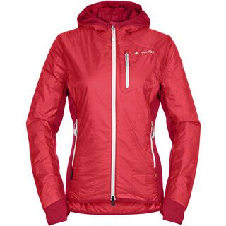Vaude Women's Sesvenna Jacket, flame/white - Thermojacke