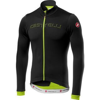 Castelli Fondo Jersey FZ, black/yellow - Radtrikot