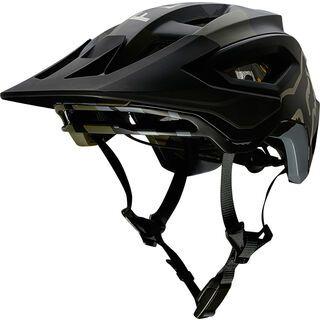 Fox Speedframe Pro Helmet, green camo - Fahrradhelm