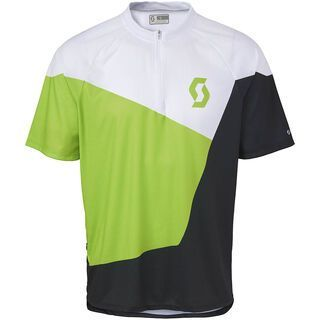 Scott Mind 20 s/sl Shirt, green/black - Radtrikot