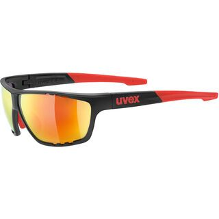 uvex sportstyle 706, anthracite mat red/Lens: mirror red - Sportbrille