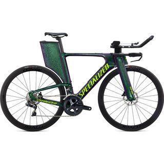 Specialized Shiv Disc Expert 2020, chameleon green/hyper green - Triathlonrad