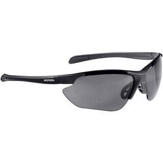 Alpina Jalix, black matt/Lens: black mirror - Sportbrille