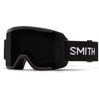 Smith Squad inkl. Wechselscheibe, black/Lens: blackout - Skibrille