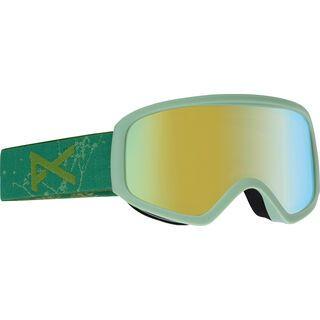 Anon Insight, fern green/Lens: gold chrome - Skibrille