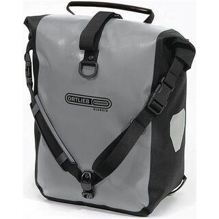 Ortlieb Front-Roller Classic, grau-schwarz - Fahrradtasche