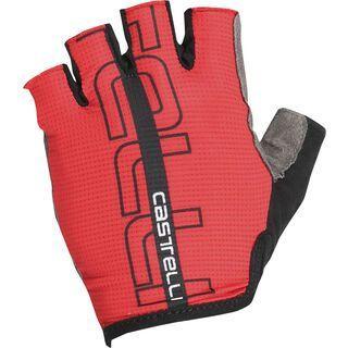 Castelli Tempo Glove, red/black - Fahrradhandschuhe