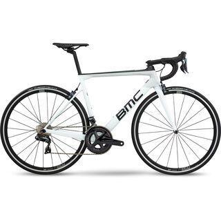 BMC Teammachine SLR02 One 2020, cool white & carbon - Rennrad