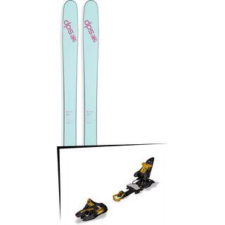DPS Skis Set: Nina 99 Pure3 2016 + Marker Kingpin 13