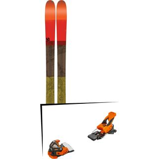 Set: K2 SKI Poacher 2017 + Tyrolia Attack 16 (1715200)