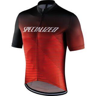 Specialized RBX Comp Logo Team Shortsleeve Jersey, black/rocket red/red - Radtrikot