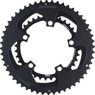 Specialized Praxis Chainrings - 50/34 w/notch, black - Kettenblatt