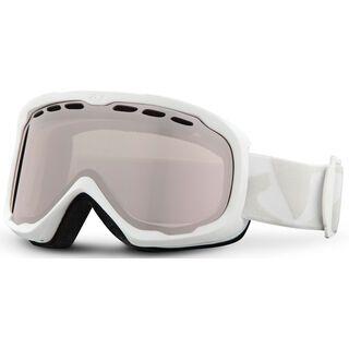 Giro Focus, white icon/rose silver - Skibrille