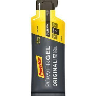 PowerBar Powergel Original - Espresso (mit Koffein) - Energie Gel