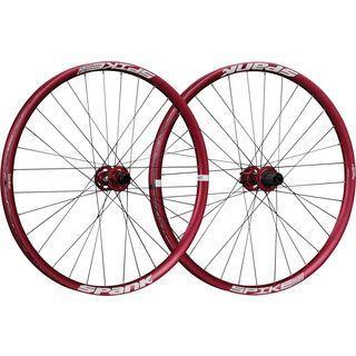 Spank Spike Race 33 Wheelset 26, red - Laufradsatz
