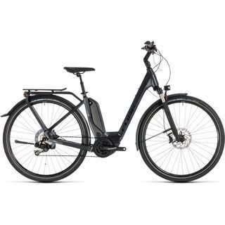 *** 2. Wahl *** Cube Touring Hybrid SL 500 Kiox Easy Entry 2019, iridium´n´red - E-Bike | Größe 58 cm