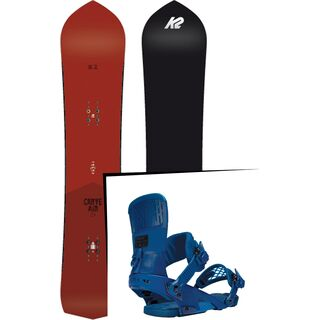 Set: K2 Carve Air 2017 + Ride Rodeo (1487158S)