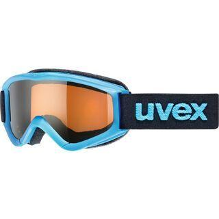 uvex speedy pro, blue/Lens: lasergold - Skibrille