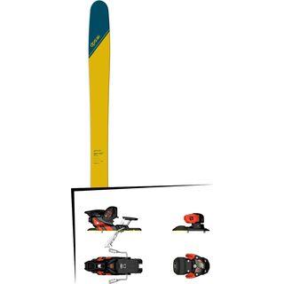 Set: DPS Skis Wailer 112 RP2 Tour1 2018 + Salomon Warden MNC 13 white/black/orange