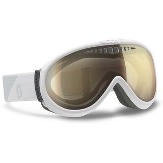 Scott Unlimited OTG + Strap-Verlängerung, white/ls bronze chrome - Skibrille