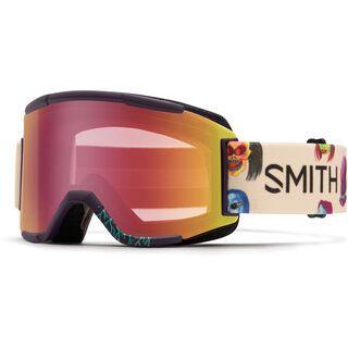 Smith Squad inkl. Wechselscheibe, creature/Lens: red sensor mirror - Skibrille