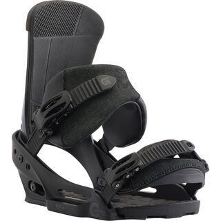 Burton Custom EST 2018, black matte - Snowboardbindung