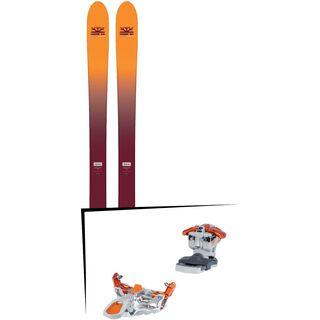 Set: DPS Skis Wailer F99 Foundation 2018 + G3 Ion LT 12