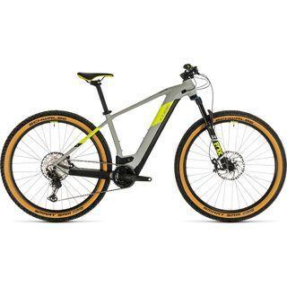 Cube Reaction Hybrid SLT 29 2020, grey´n´yellow - E-Bike