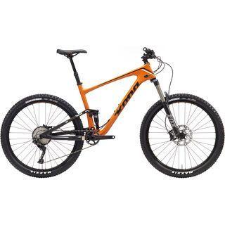 Kona Hei Hei Trail 2017, orange/black - Mountainbike