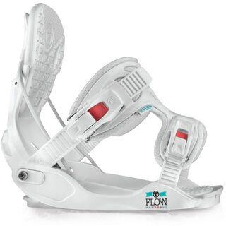 Flow Minx 2015, white - Snowboardbindung