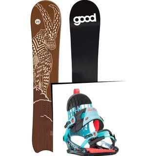 Set: goodboards Capra 2017 + K2 Cinch CTS (1488386S)