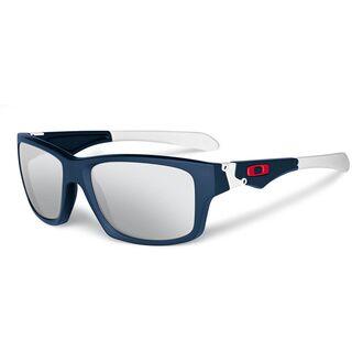 Oakley Jupiter Squared, Matte Navy/Chrome Iridium - Sonnenbrille