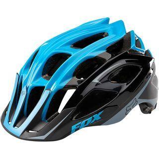 Fox Striker Helmet, black/blue - Fahrradhelm
