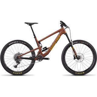Santa Cruz Bronson CC X01 2020, red/yellow - Mountainbike