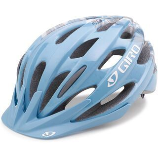 Giro Verona, ice blue flowers - Fahrradhelm