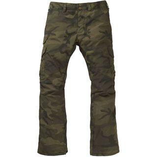 Burton Cargo Pant Regular Fit, worn camo - Snowboardhose