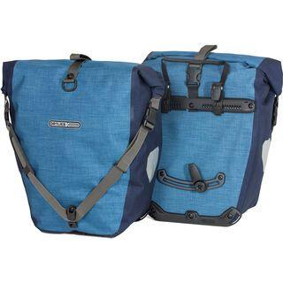 Ortlieb Back-Roller Plus (Paar), denim-stahlblau - Fahrradtasche