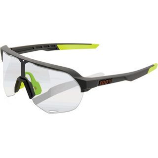 100% S2 Photochromic Clear/Smoke soft tact cool grey